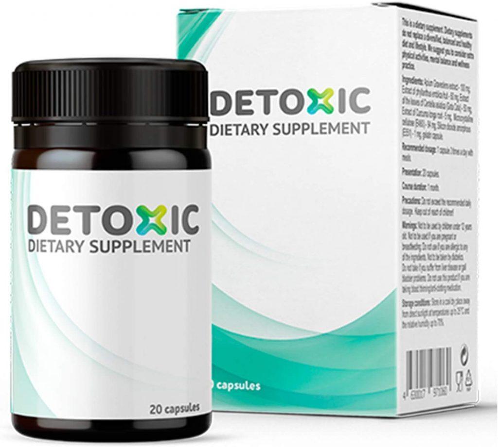 Detoxic - opinie, forum, skład, cena, gdzie kupić