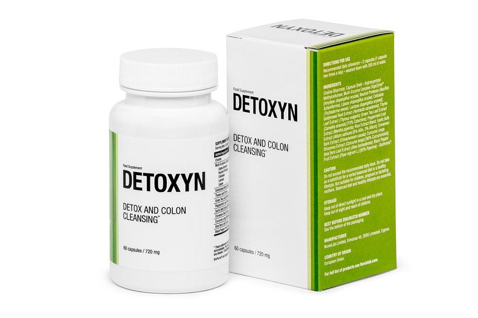 Detoxyn - opinie, forum, skład, cena, gdzie kupić?
