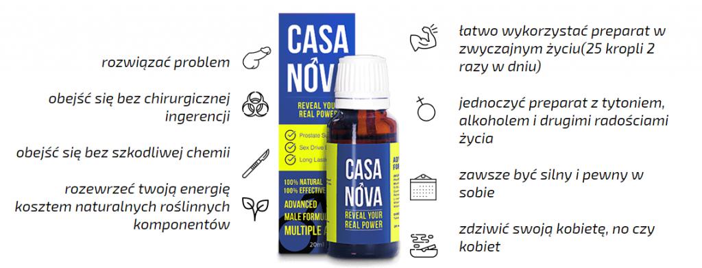 Casanova - Jak stosować produkt Casanova?