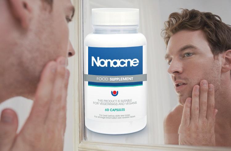 Tabletki poprawiające skórę nonacne