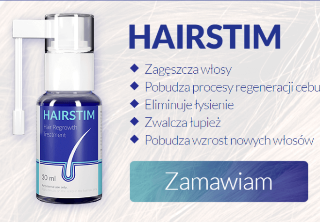 Haistim pomaga w zwalczaniu łysienia i występowania łupieżu