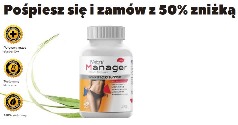 Cena i gdzie kupić Weight Manager? apteka allegro opinie ceneo