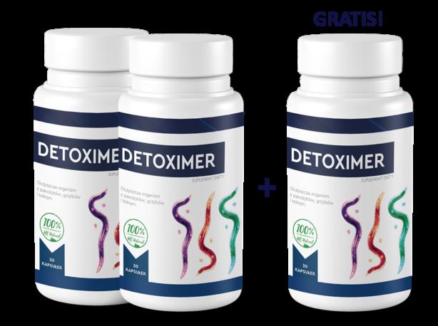 Cena i gdzie kupić Detoximer?