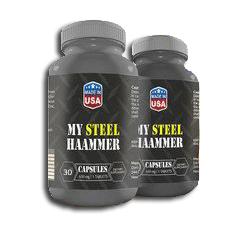 My Steel Hammer kapsułki - opinie - składniki - cena - gdzie kupić