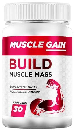 Muscle Gain kapsułki - opinie - składniki - cena - gdzie kupić?